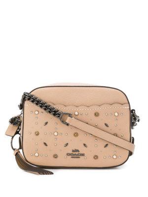 COACH: borse a tracolla - Tracolla piccola con borchie Prairie