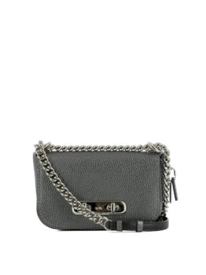Coach: cross body bags - Swagger 20 leather cross body bag