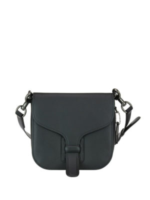 Coach: cross body bags - Tanned leather saddle bag