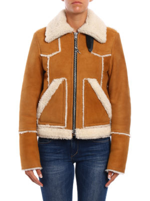 Coach: Fur & Shearling Coats online - Shearling lumber jacket