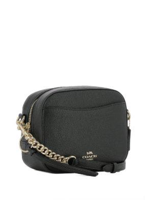 COACH: borse a tracolla online - Borsa a tracolla in pelle nera