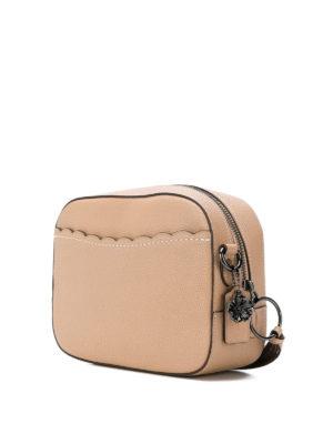 COACH: borse a tracolla online - Tracolla piccola con borchie Prairie