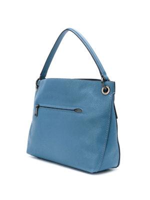 COACH: borse a spalla online - Borsa a spalla Clarkson color chambray