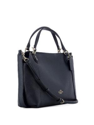 COACH: borse a spalla online - Borsa Edie 28 in pelle blu