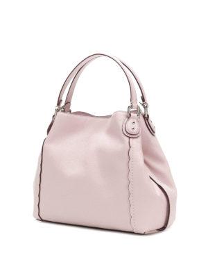 COACH: borse a spalla online - Borsa a spalla in pelle lilla