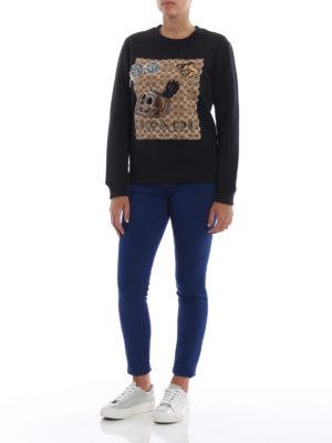 COACH: Felpe e maglie online - Felpa con ricami tenebrosi