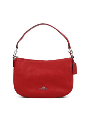 Coach: shoulder bags - Chelsie pebbled leather bag