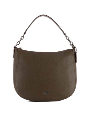 Coach: shoulder bags - Hobo Chelsea 32 brown leather bag