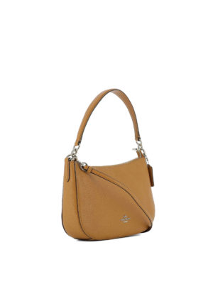 Coach: shoulder bags online - Chelsea hammered leather bag