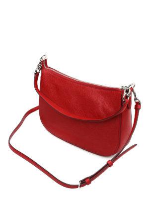 Coach: shoulder bags online - Chelsie pebbled leather bag