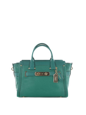 Coach: shoulder bags - Swagger 21 Carryall leather bag
