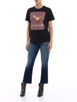 Coach: t-shirts online - Rexy black T-shirt