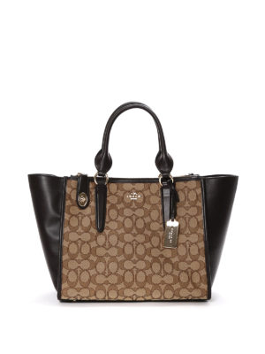 Coach: totes bags - Crosby Carryall leather bag