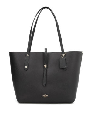 Coach: totes bags - Market pebbled leather tote