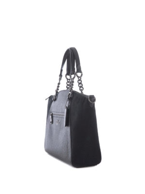 Coach: totes bags online - Chain Prairie leather and suede bag