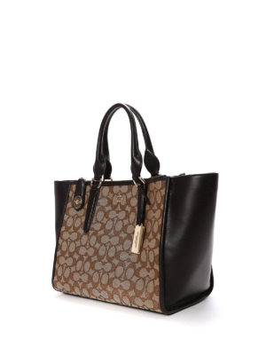 Coach: totes bags online - Crosby Carryall leather bag