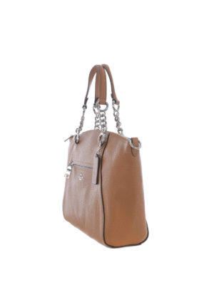 Coach: totes bags online - Prairie hammered leather satchel