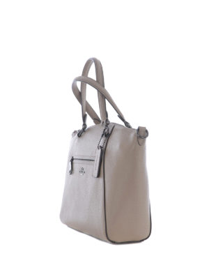 Coach: totes bags online - Prairie hammered leather tote
