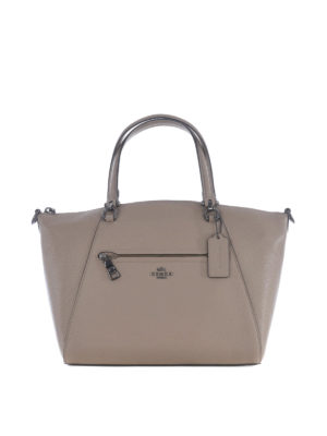 Coach: totes bags - Prairie hammered leather tote