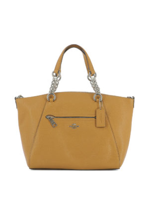 Coach: totes bags - Prairie leather satchel