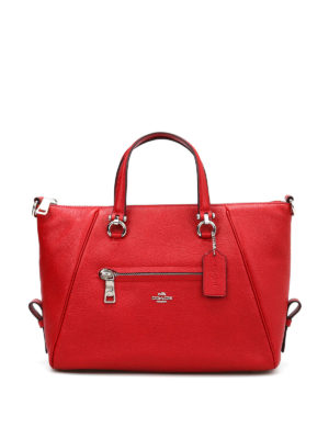 Coach: totes bags - Primrose grained leather bag