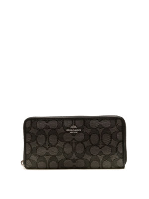 Coach: wallets & purses - Accordion zip-around wallet