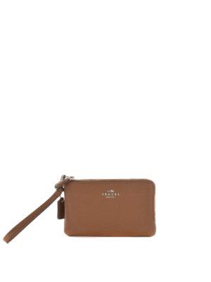 Coach: wallets & purses - Double zip wristlet wallet