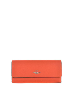 Coach: wallets & purses - Grained leather soft wallet