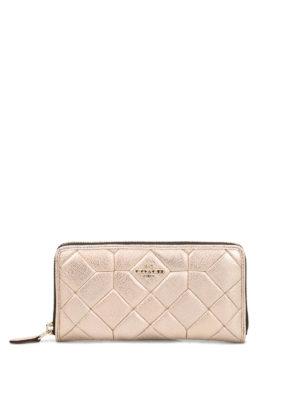 Coach: wallets & purses - Matelassé leather Accordion wallet