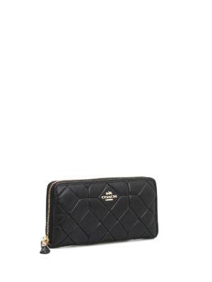 Coach: wallets & purses online - Accordion matelasse leather wallet