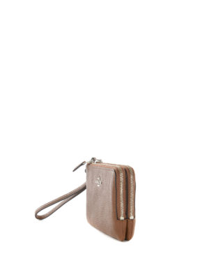 Coach: wallets & purses online - Double zip wristlet wallet