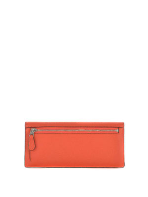 Coach: wallets & purses online - Grained leather soft wallet