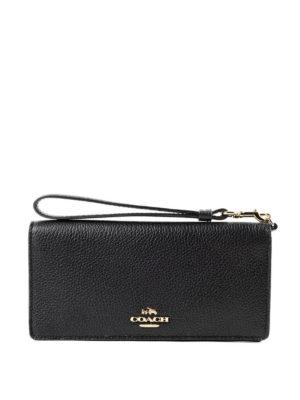Coach: wallets & purses - Slim leather wallet