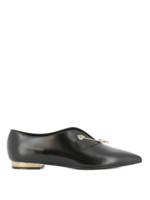 Coliac: flat shoes - Cindy leather ballerinas