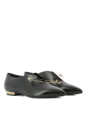 Coliac: flat shoes online - Cindy leather ballerinas