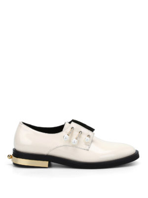 Coliac: Loafers & Slippers - Fernanda piercing slip-ons
