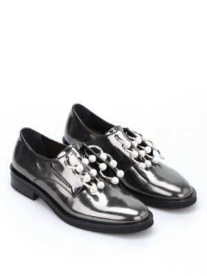 Coliac: Loafers & Slippers online - Anello piercing slip-ons