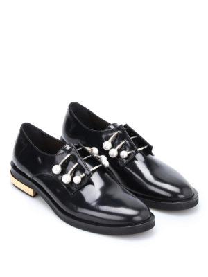 Coliac: Loafers & Slippers online - Fernanda piercing slip-ons