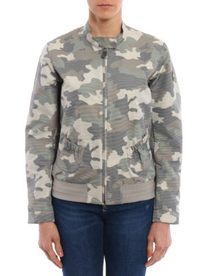 Colmar Originals: bombers online - Camouflage high tech fabric bomber
