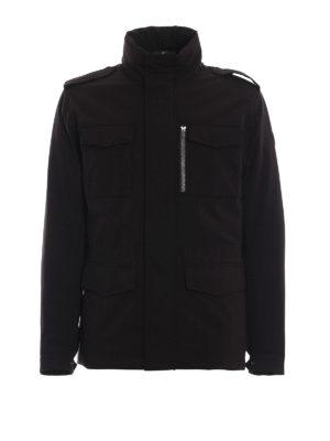 Colmar Originals: giacche casual - Field jacket imbottito Bodies marrone scuro