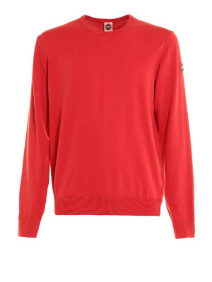 Colmar Originals: crew necks - Garment dyed cotton sweater