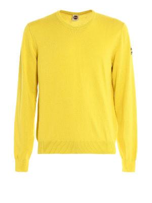 Colmar Originals: crew necks - Garment dyed cotton sweater