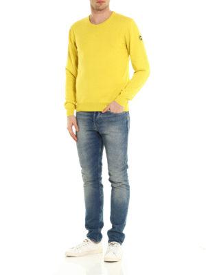 Colmar Originals: crew necks online - Garment dyed cotton sweater