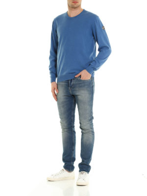 Colmar Originals: crew necks online - Garment dyed cotton sweater
