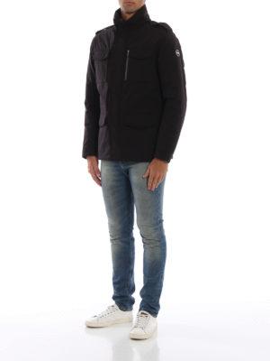 Colmar Originals: giacche casual online - Field jacket imbottito Bodies marrone scuro
