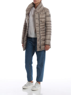 Colmar Originals: cappotti imbottiti online - Piumino in nylon Place color beige cookie