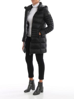 Colmar Originals: cappotti imbottiti online - Piumino nero Place con cappuccio staccabile