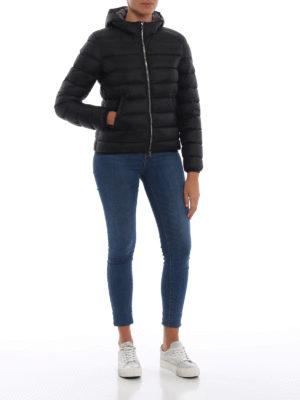 Colmar Originals: giacche imbottite online - Piumino corto nero con cappuccio