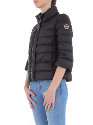 Colmar Originals: giacche imbottite online - Piumino nero con maniche a tre quarti