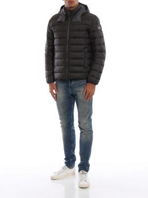 Colmar Originals: giacche imbottite online - Piumino idrorepellente marrone opaco